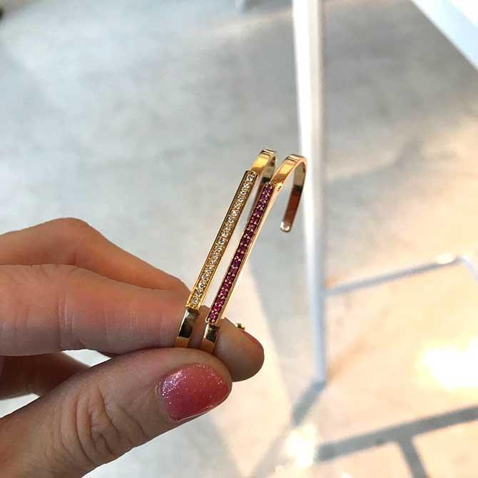 Sandrine de Laage bracelets