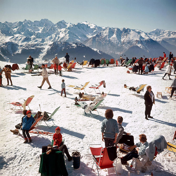 Slim Aarons Verbier Vacation at Jonathan Adler