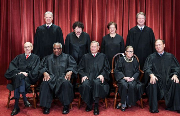 Supreme Court portrait 2018