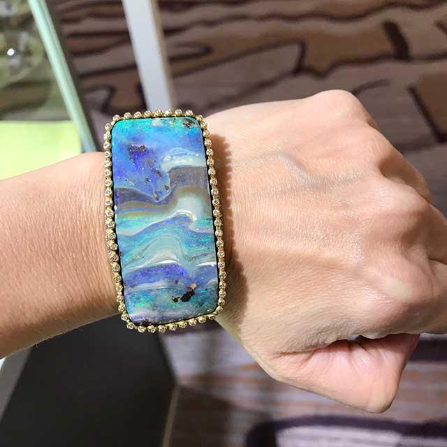 Suzy Landa opal bracelet