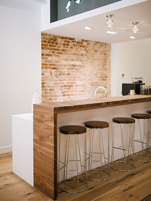James Allen coffee bar