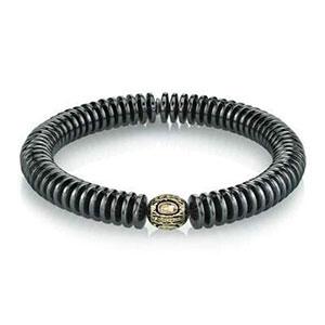 Mr. Lowe hematite bracelet