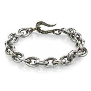 Mr. Lowe diamond clasp bracelet