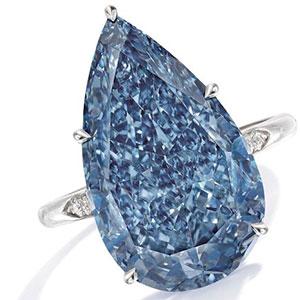 Sotheby's blue diamond
