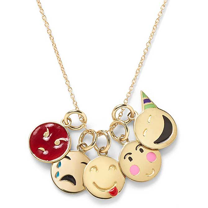 Alison Lou small pendant charm necklace