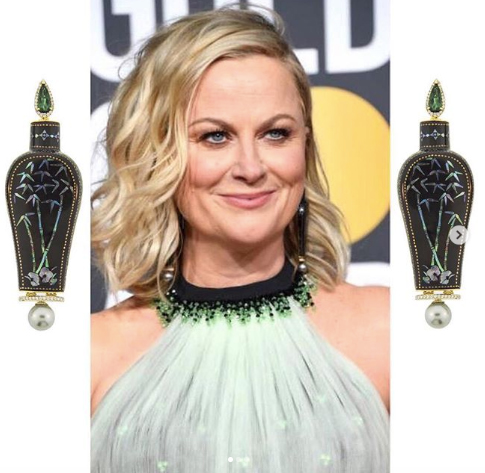 Amy Poehler Golden Globes