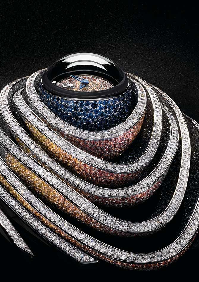 Audemars Piguet Sapphire Orbe dial and case