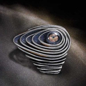 Audemars Piguet sapphire orbe watch