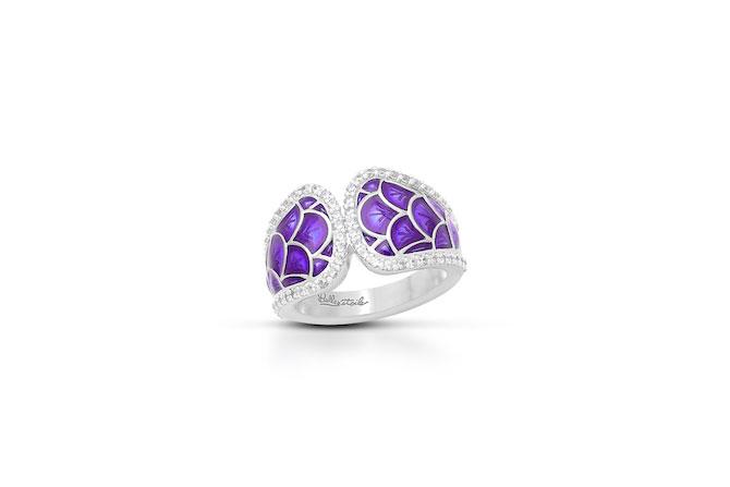 Belle Etoile Marina Purple Ring