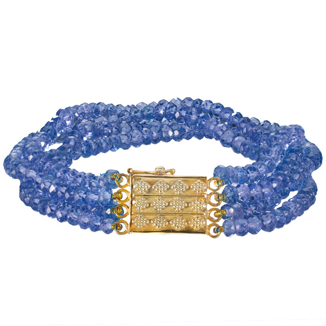 Christina Malle sapphire bracelet