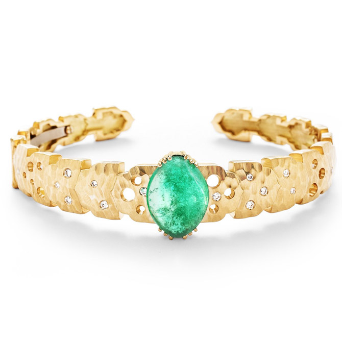 Dana Bronfman x Muzo Emeralds Agra cuff