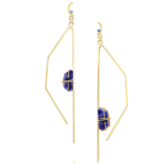 Enji Studio Jewelry Pavla earrings