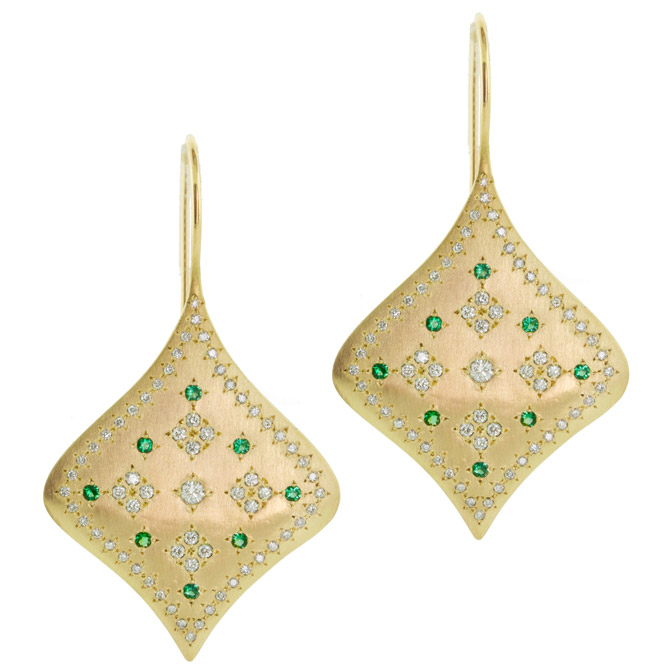 Adel Chefridi Summer Night earrings