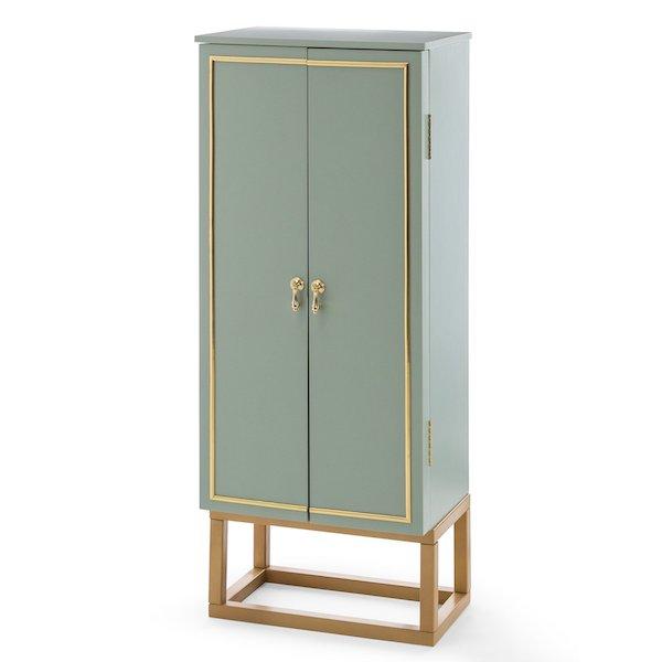 Hayneedle mint green jewelry armoire