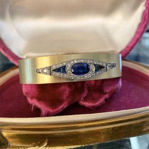 Jewels by Grace sapphire bracelet