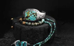 John Varvatos turquoise jewelry