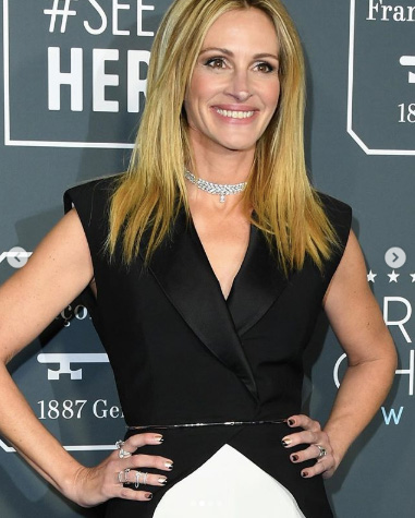 Julia Roberts Critics Choice Awards 2019