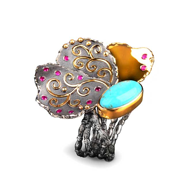 Margisa Flower ring