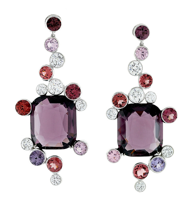 Martin Katz amethyst earrings