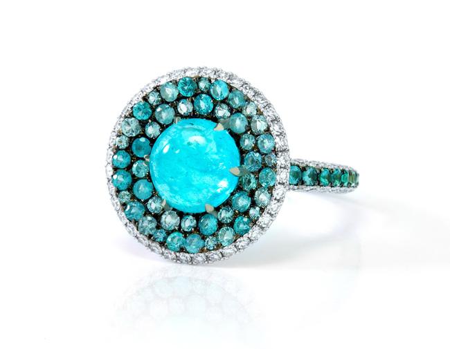 Martin Katz green ring