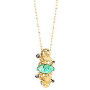 Dana Bronfman x Muzo Emerald pendant