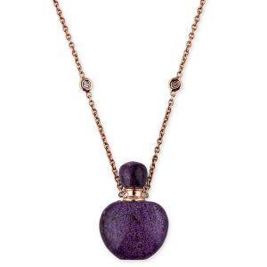 Jacquie Aiche lavenderite Potion Bottle necklace