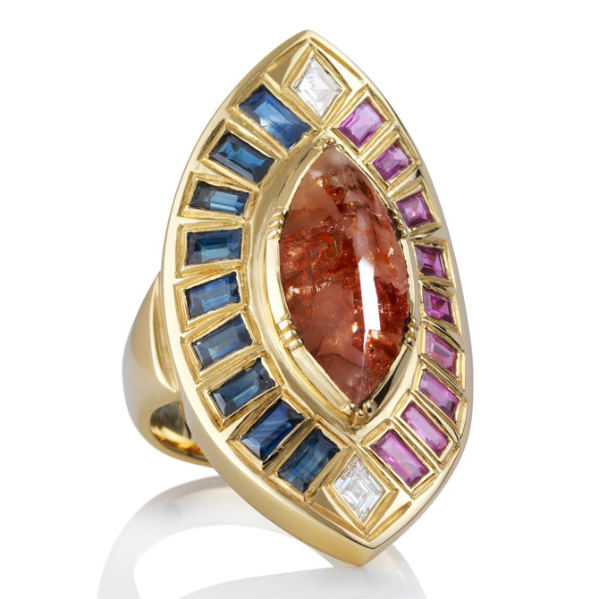 Brooke Gregson Talisman shield ring