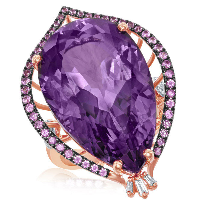 Lali Jewelry amethyst ring