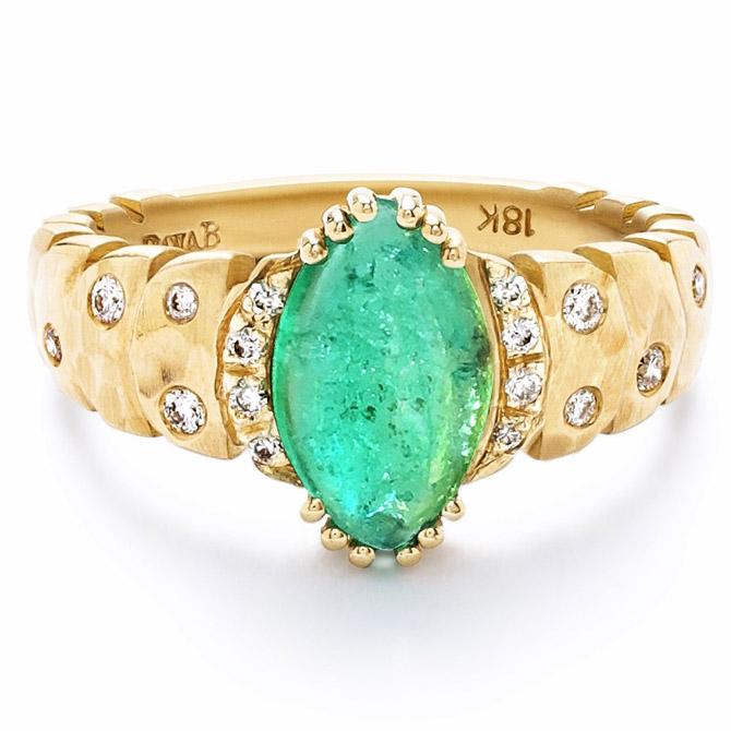 Dana Bronfman x Muzo emerald ring
