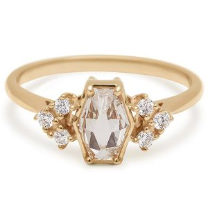 Anna Sheffield Bea Arrow Hex ring