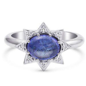 M Spalten Mini Starburst ring