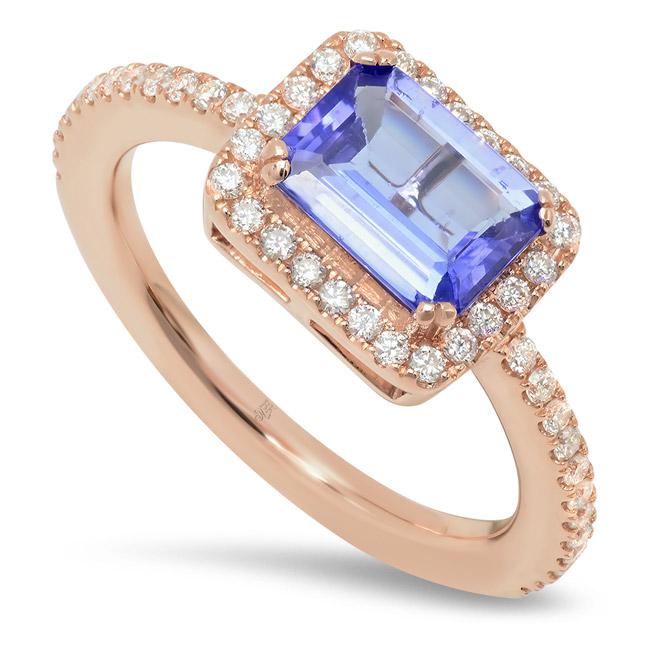 Beverley K tanzanite ring