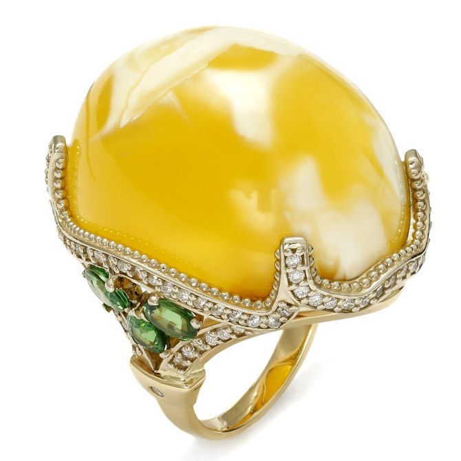 A2 yellow amber ring