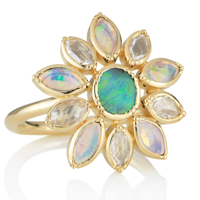 Brooke Gregson flower ring
