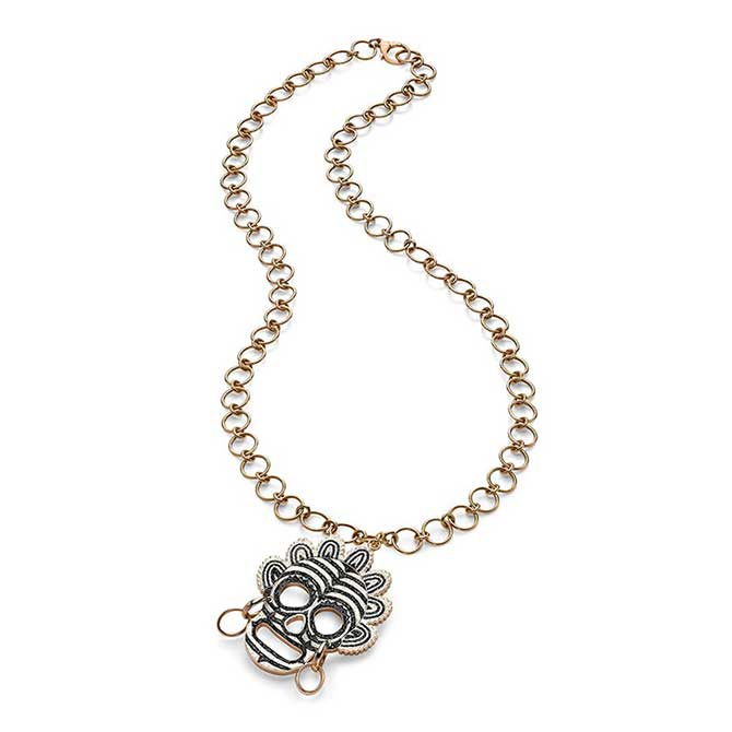 Sicis skull necklace