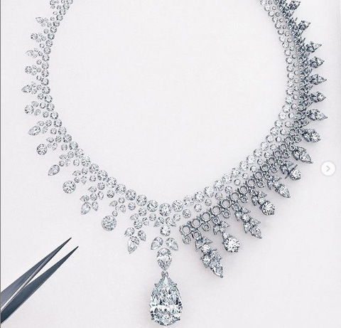 Tiffany Lady Gaga necklace