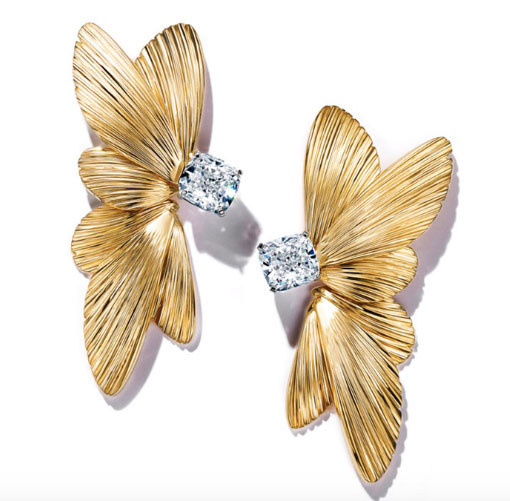 Tiffany Lady Gaga SAG earrings