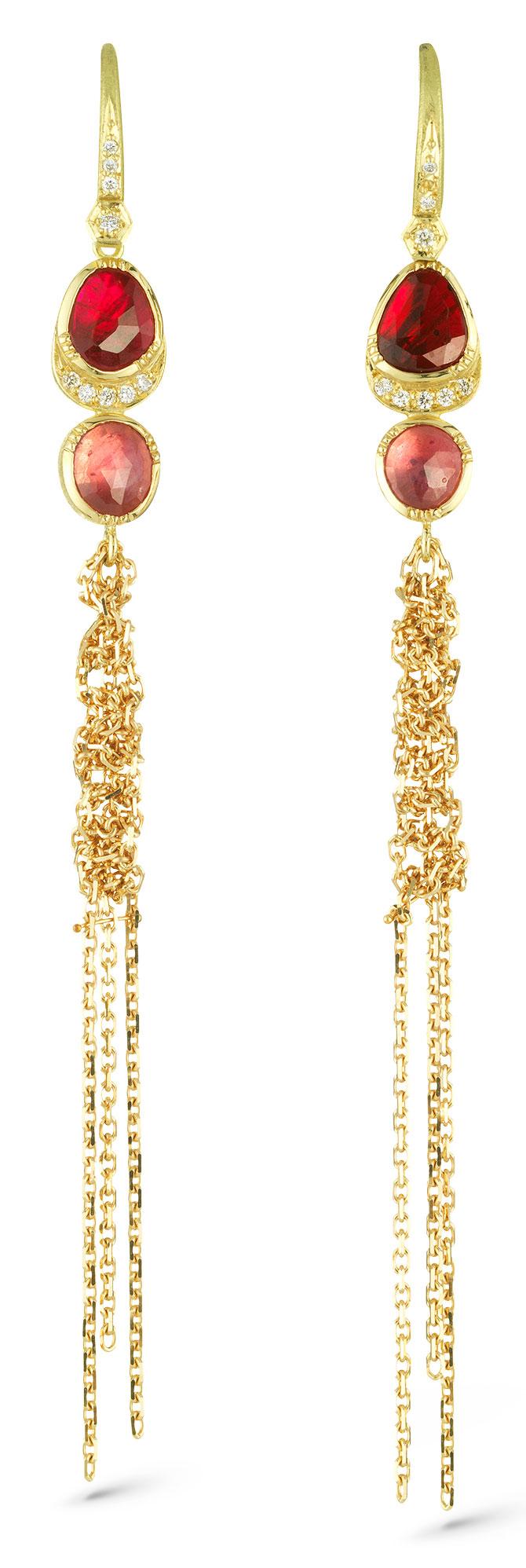 brooke gregson waterfall halo earrings