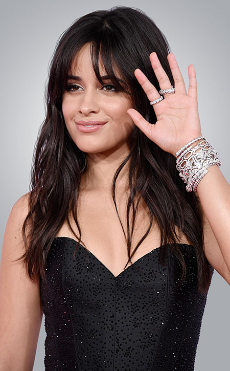 camila cabello at 2018 AMAs