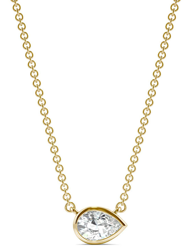 charles colvard east west necklace