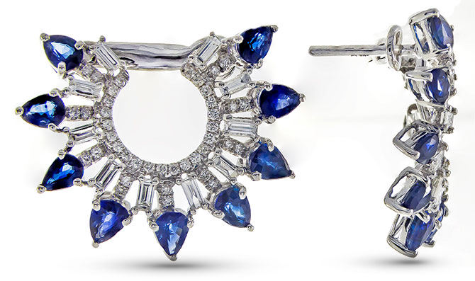 cirari sapphire diamond earrings