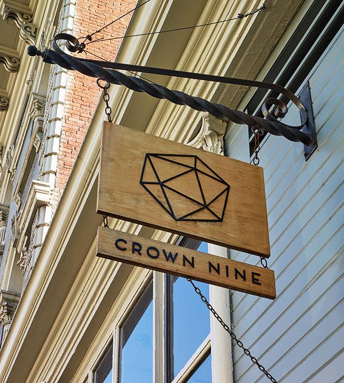 crown nine sign