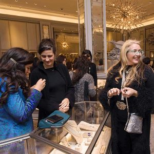 deirdre featherstone at NYC jewelry week