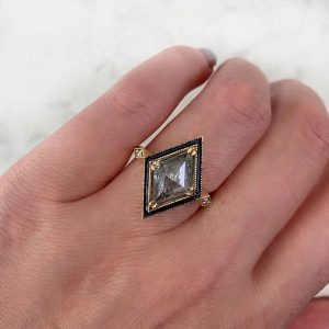 Emily Gill Monroe engagement ring