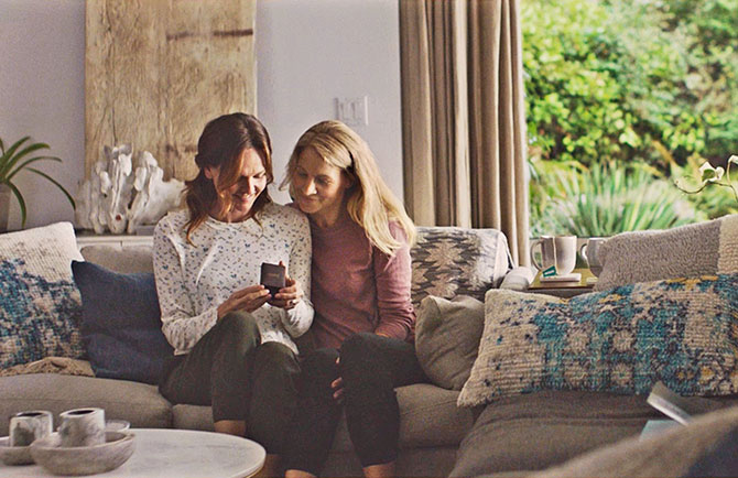 jared commercial two women