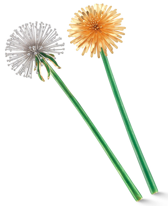 mcteigue and mcclelland dandelion pins