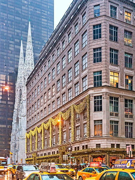 saks fifth avenue NYC