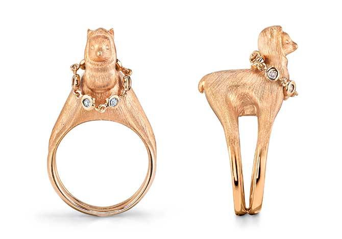 Daniela Villegas baby alpaca ring