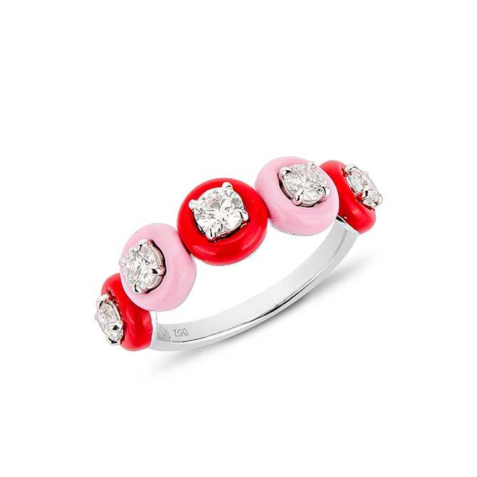 Etho Maria 5 stone ring