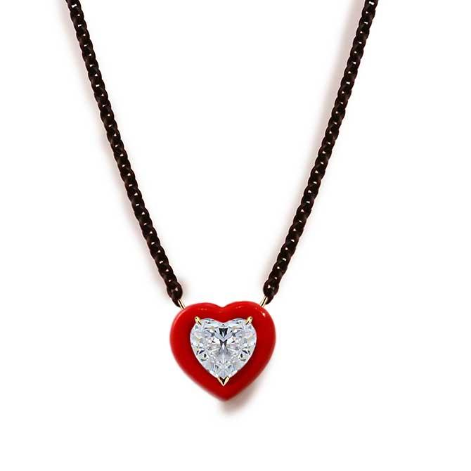 Etho Maria heart pendant